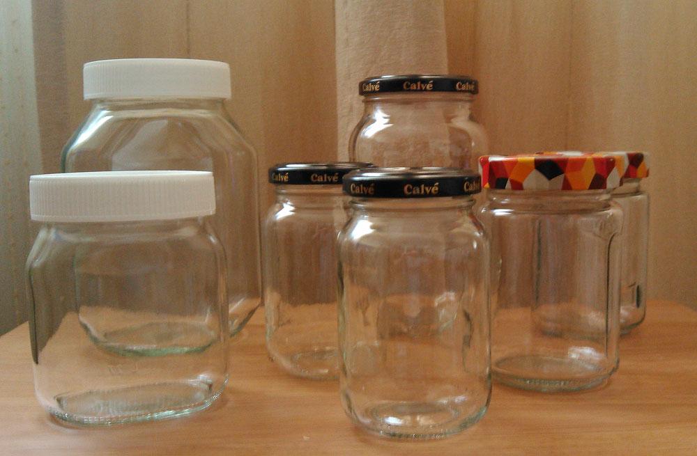 reciclar botes de cristal susana clavero