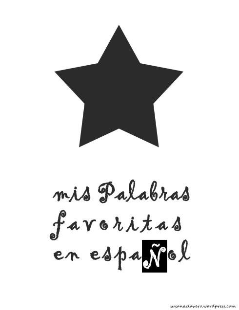 mis palabras favoritas en español