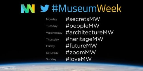 museum week 2016 hashtags